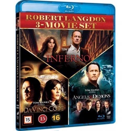 Image of Dan Brown 3movie set Blu-ray (7330031000742)