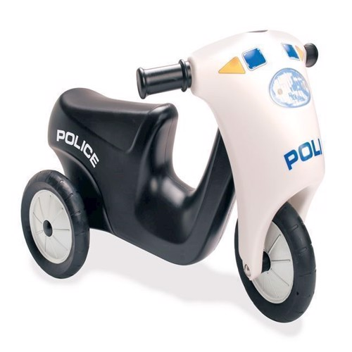 Image of   Dantoy politi Scooter med gummihjul