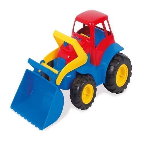 Image of Dantoy traktor med frontlæsser (5701217021196)