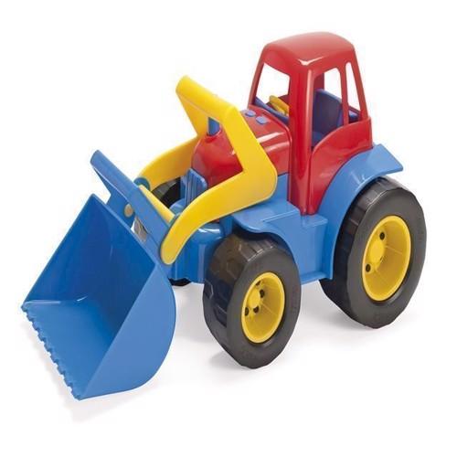 Image of Dantoy traktor med plastik hjul