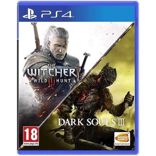 Image of Dark Souls 3 The Witcher 3 Wild Hunt - PS4 (3391892002294)