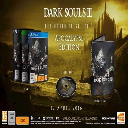 Image of   Dark Souls III 3 Apocalypse Edition - XBOX ONE