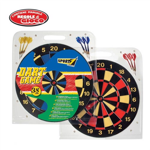 Image of Dartspil Sport 38Cm Med 6 Pile