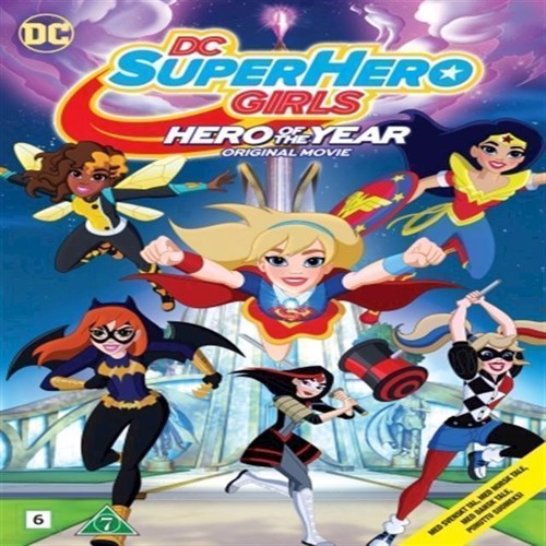 Image of DC SH Girls Hero of the Year DVD (5051895407356)