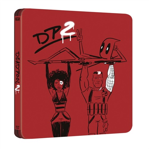 Image of Deadpool 2 - Limited Steelbook (Blu-Ray) (7340112745462)