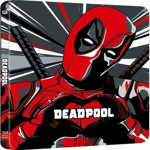 Image of Deadpool 2 Year Anniversary Edition Limited Steelbook edition Blu-ray (7340112743857)