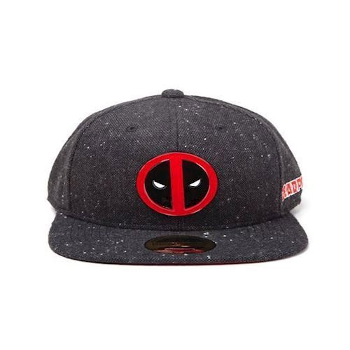 Image of Deadpool kasket, Metal Badge Logo, Onesize