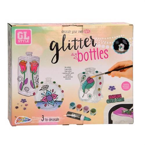Image of Dekorer glitter potte