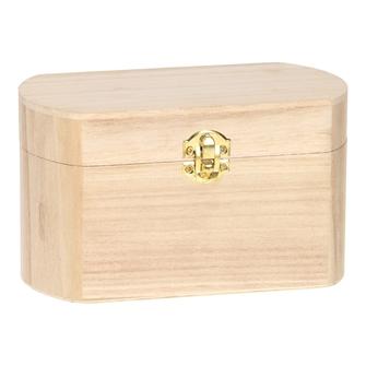 Image of Dekorer selv oval kasse