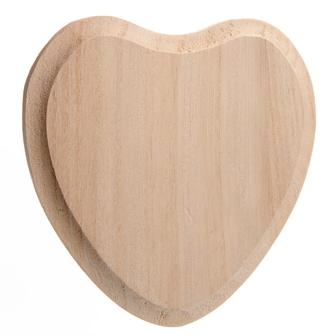 Image of Dekorer selv navne plade hjerte