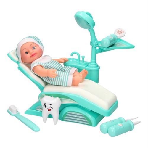 Image of Tandlægesæt med dukke
