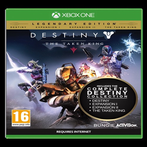 Image of   Destiny The Taken King Legendary Edition - PS3