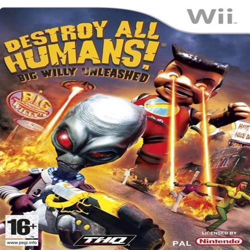 Image of Destroy All Humans Big Willy Unleashed - Wii