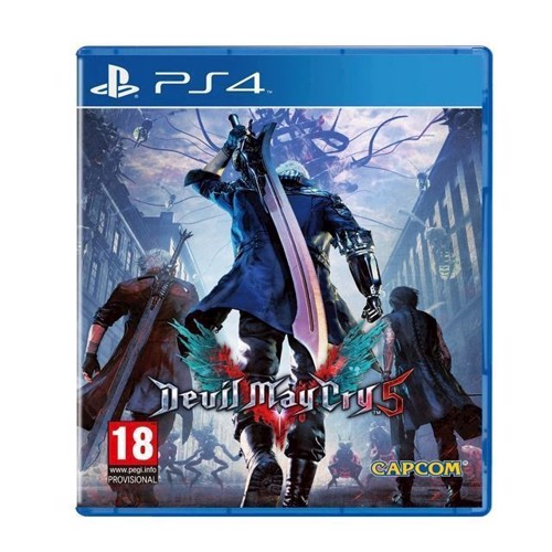 Image of Devil May Cry 5 - PS4 (5055060946503)