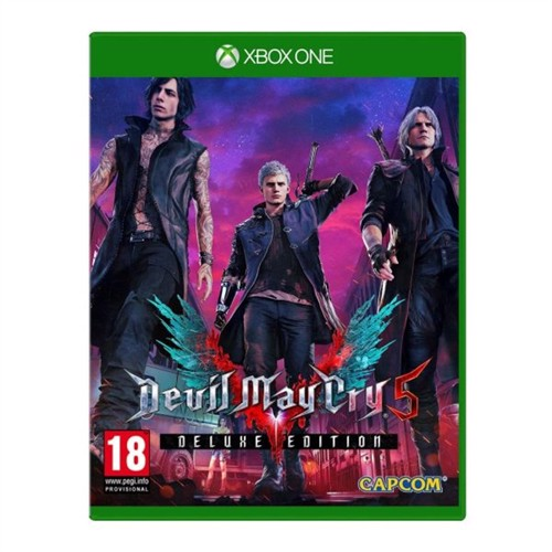 Image of Devil May Cry 5 Deluxe Steelbook Edition Xbox One (5055060987865)