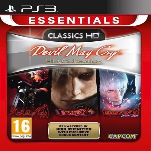 Image of Devil May Cry Hd Collection Essential - Ps3
