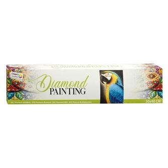 Image of Diamond Painting Parrot, 30x40 cm (8720257102280)