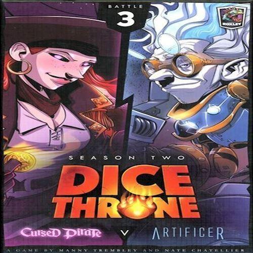 Image of Dice Throne Season 2 Cursed Pirate V Artificier Rox603 (9781988884219)