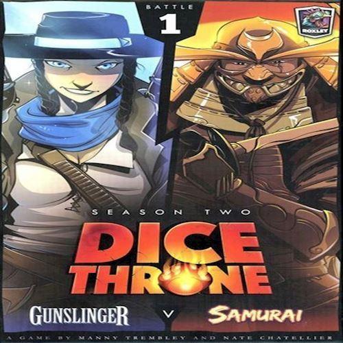 Image of Dice Throne, Sæson 2, Gunslinger vs Samurai Expansion ROX602 (9781988884196)