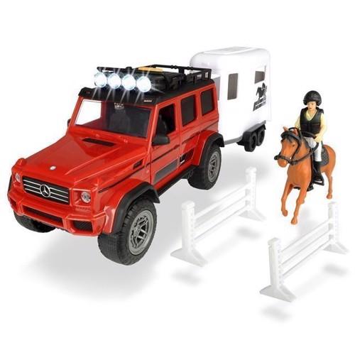 Image of Dickie playlife, heste trailer sæt
