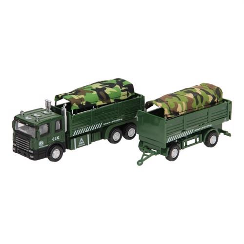 Image of Die-cast, militær truck (3800966023931)