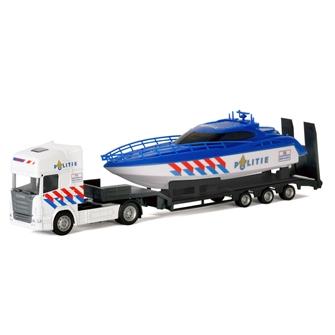 Image of Lastbil med politi båd (8719214071110)