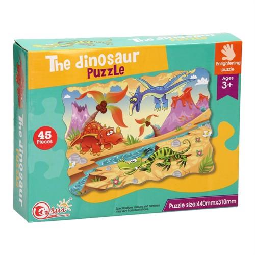 Image of Dinosaur gulvpuzzle med 45 brikker