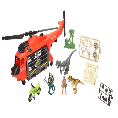 Image of Dino Valley Big Jaw Helikopter Legesæt (4893808420578)