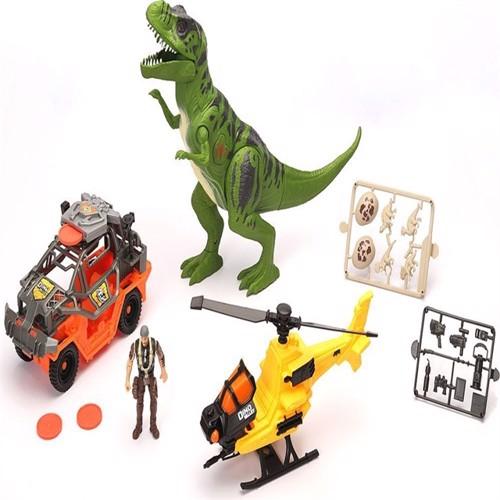 Image of Dino valley kæmpe t-rex angreb legesæt (4893808420547)
