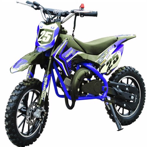 Image of Dirtbike 49Cc Mini Crosser Model 709 Blå