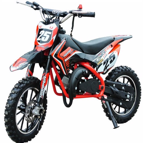 Image of Dirtbike 49Cc Mini Crosser Model 709 Rød