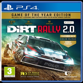 Image of DiRT Rally 2.0 (Game of the Year Edition) (4020628725570)