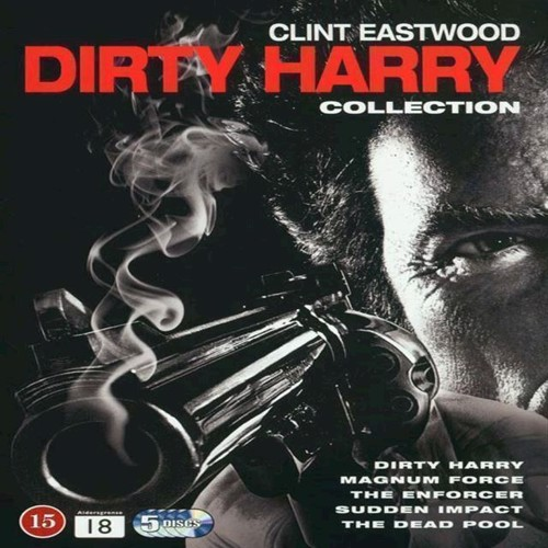 Image of Dirty Harry Collection 5disc DVD (5051895342619)