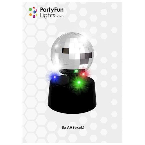 Image of Disco kugle med lys