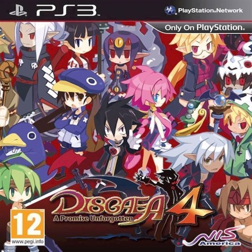 Image of   Disgaea 4 A Promise Unforgotten - PS3