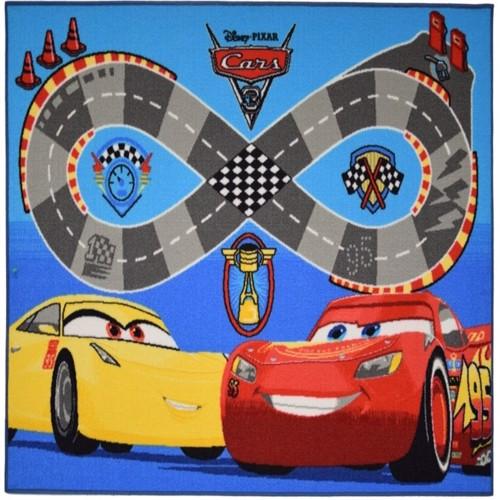 Image of Disney Biler 3 Gulvtæppe Til Børn 133X95