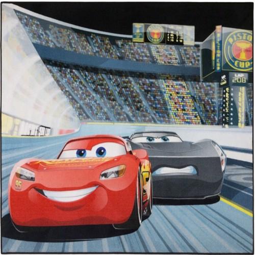 Image of Disney Biler 3 Stadion Deluxe Gulvtæppe Til Børn 95X125