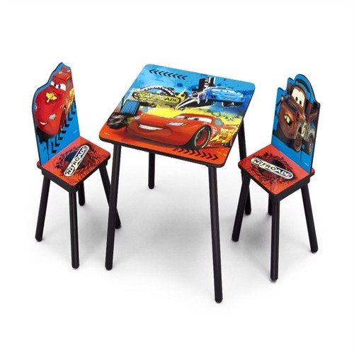 Image of Disney biler bord med stole v1