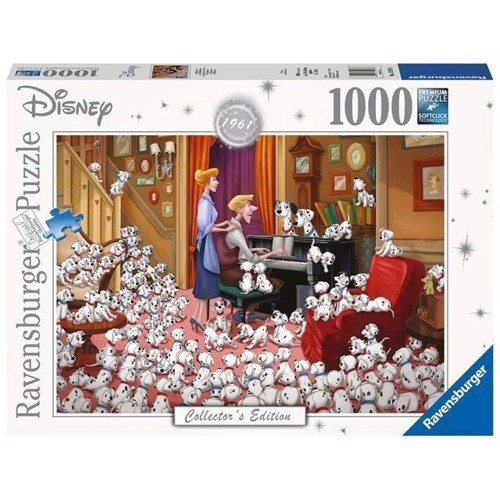 Image of Disney Collectors Edition puslespil, 101 Dalmatiner 1000 brikker