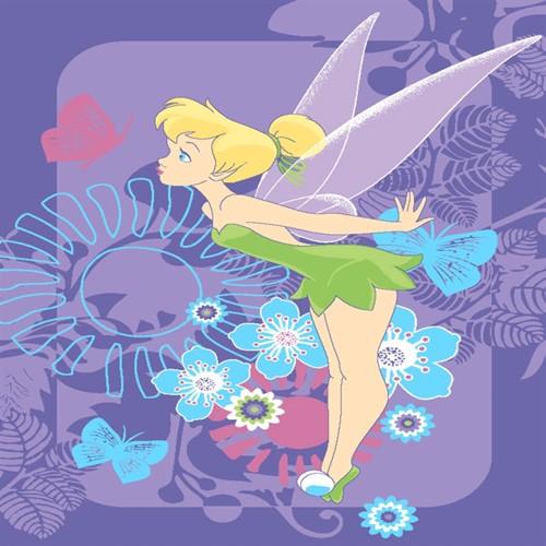 Image of Disney Feer Børnetæppe 02, 95X133Cm