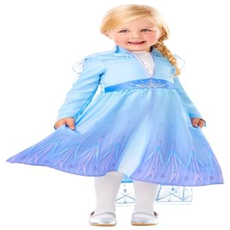 Image of Disney Frost 2 ELSA Kjole Udklædningstøj (2-3 år)(Str. 98/T)