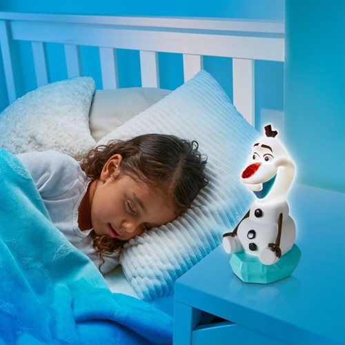 Image of Disney Frost 2 Olaf 2I1 Natlampe Og Lygtefigur