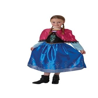 Image of Disney Frost Anna Deluxe Udklædningstøj(Str. 128/L)