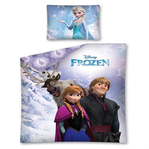 Image of Disney Frost Anna Og Sven Sengetøj 100 Bomuld