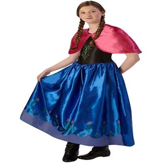 Image of Disney Frost Anna udklædningstøj(Str. 140/9-10)