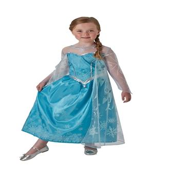 Image of Disney Frost Elsa Deluxe Udklædningstøj(Str. 128/L)