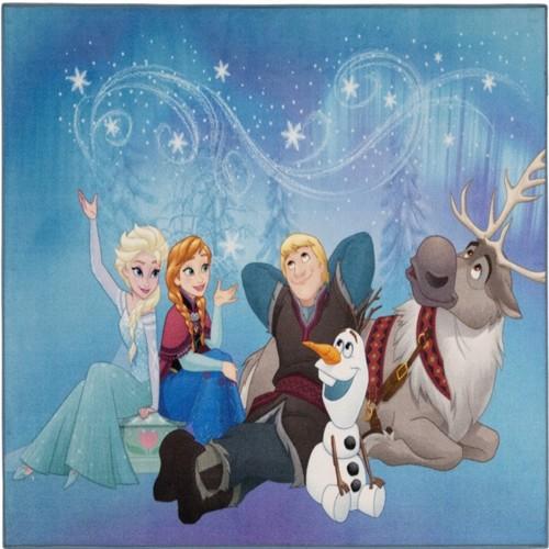 Image of Disney Frost Loyal Friends Deluxe Gulvtæppe Til Børn 95X125