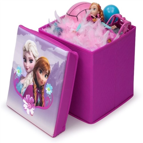 Image of Disney Frost sammenklappelig skammel med opbevaring