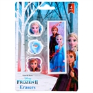 Disney Frozen 2 Erasers, 4pcs.