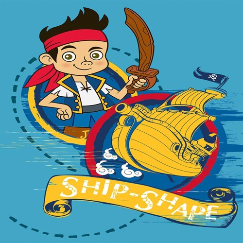 Image of Disney Jake Og Piraterne Børnetæppe 02, 95X133Cm